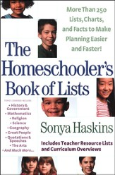 The Homeschooler's Book of Lists