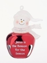 Jesus Is The Reason Jingle Buddy Ornament