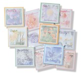 Flower of the Month Sticky Note Set  - Slightly Imperfect