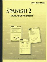 BJU Spanish 2, DVD Supplements