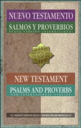 NVI/NIV, Spanish/English, New Testament with Psalms & Proverbs