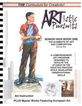 ARTistic Pursuits, Senior High Book One, The Elements of Art and Composition