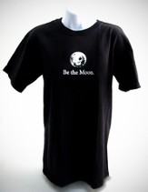 Be the Moon T-Shirt, Black, X-Large  - Slightly Imperfect