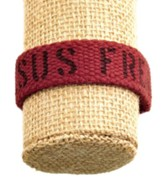 Jesus Freak, Canvas Bracelet