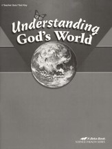 Understanding God's World Quizzes and Tests Key, Fourth Edition
