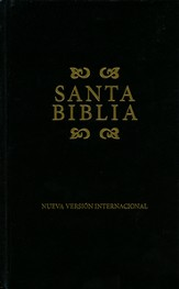 NVI Bible, Hardcover, Black