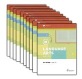 Lifepac Language Arts, Grade 3, Workbook Set