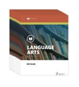 Lifepac Language Arts, Grade 6, Workbook Set