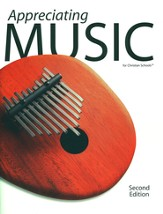 BJU Appreciating Music, Student Text (Second Edition)