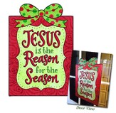 Jesus is the Reason For the Season Door Hanger