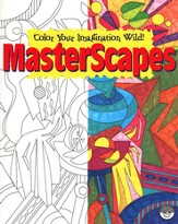 MasterScapes Coloring Book