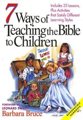 7 Ways to Teach the Bible to Children