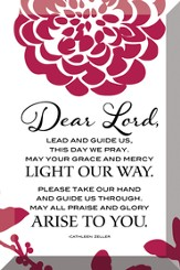 Dear Lord, Lead and Guide Us Plaque