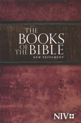 The Books of the Bible: Anglicized NIV New Testament softcover