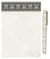 Keys of the Kingdom Notepad and Pen Gift Set
