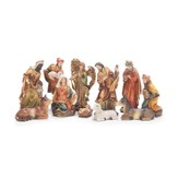 Nativity, Set of 11 Pieces
