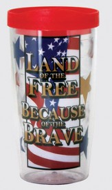 Land Of the Free Tumbler
