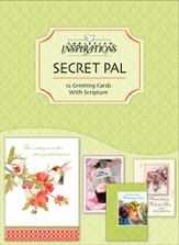 Secret Pal, All Occasion Cards, Box of 12