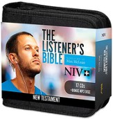 NIV Listener's New Testament: Narrated by Max McLean, 17 Audio CD and 1 MP3 Disc