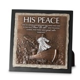 His Peace Sculpture Plaque