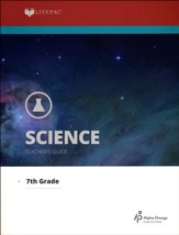 Lifepac Science, Grade 7, Teacher's Guide