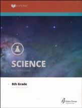 Lifepac Science, Grade 8 (Physical Science I), Teacher's Guide