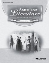 American Literature: Classics for Christians Quizzes/ Tests, Fourth Edition