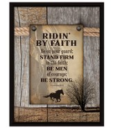 Be On Your Guard; Stand Firm In Your Faith Plaque