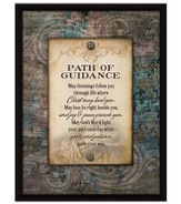 Path Of Guidance: May Blessings Follow You Through Life Plaque