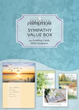 Assorted Sympathy Cards, Box of 24