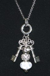 Keys of the Kingdom Two Keys Necklace