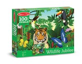 Wildlife Jubilee Jigsaw Puzzle, 100 Pieces