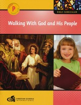 Walking with God and His People Preschool Teacher's Guide