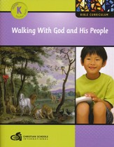 Walking with God and His People Kindergarten Teacher's Guide