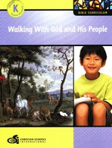 Walking with God and His People Kindergarten Student Workbook