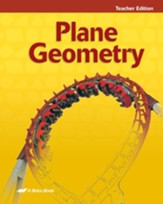 Plane Geometry Teacher Edition, Second Edition