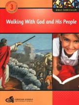 Walking with God and His People Grade 3 Student Workbook