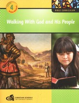 Walking with God and His People Grade 4 Student Workbook