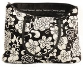 Quilted Tote Bag, Luke 1:28, Black and White, Large