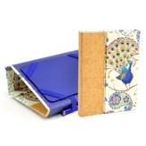Kindle Cover with Stylus & Scripture Notepad - Peacock Fantasy