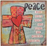 May God's Peace and Love Wall Art