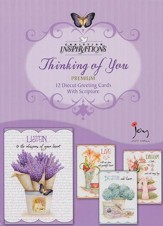 Grateful Heart, Thinking Of You Cards, Box of 12
