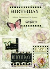 Floral Rapture, Birthday Cards, Box of 12