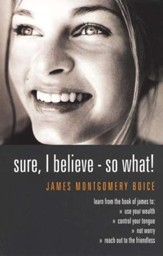 Sure I Believe-So What: How to Really Live Your Faith  - Slightly Imperfect