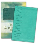 Pray the Scriptures Bible, Duravella, teal