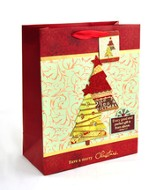 Christmas Trees Gift Bag, Large