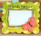 Friends Forever Photo Frame with Butterfly