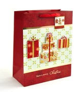 Christmas Presents Gift Bag, X-Large