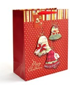 Christmas Bells Gift Bag, Extra Large
