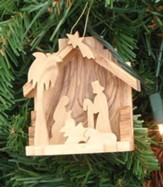 Nativity Ornament with Extended Base